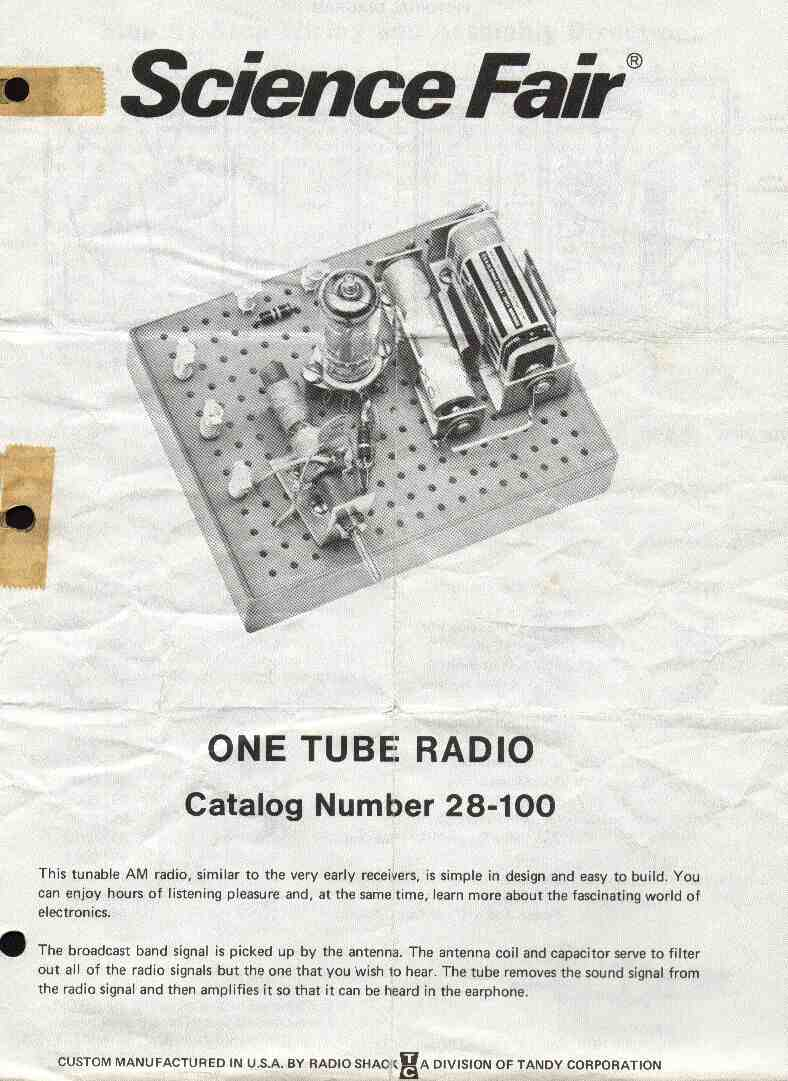 P Box Kits Page Onetube Transmitter Schematic Diagrams And Circuit Descriptions Cover